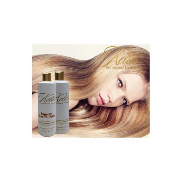 Keratin Superior Control Frizz Kit