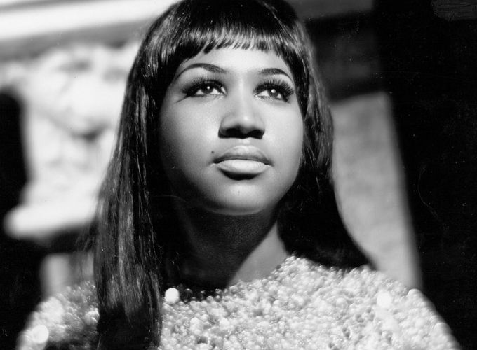 Aretha Franklin 10 Iconic Hairstyles - Medium Length Hair with Straight Bangs